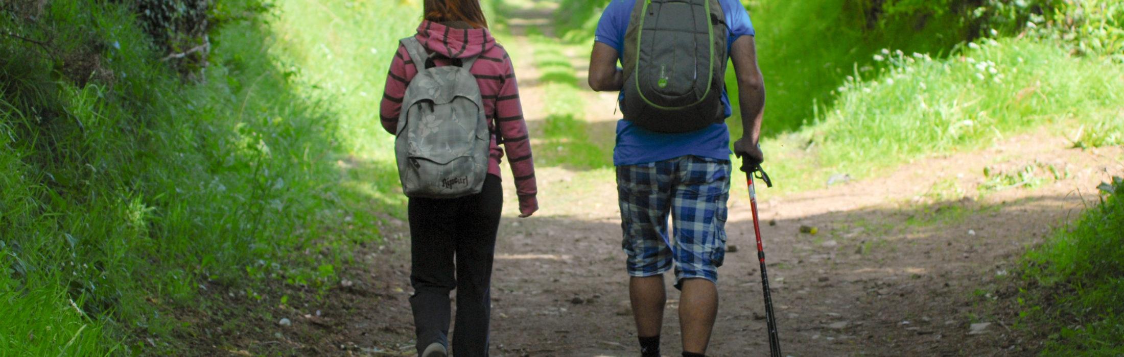 À petits pas ou à grandes enjambées, le Pays de Vire est une terre propice à la pratique de la randonnée pédestre et de la course d'orientation. 1